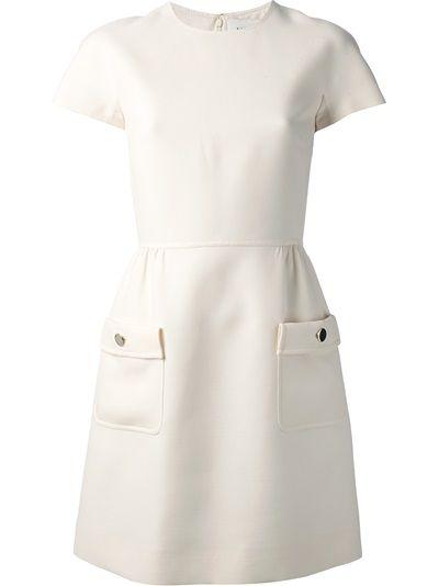 Valentino Vestido Off White
