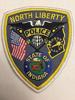 North-Liberty-Indiana-Police-Patch