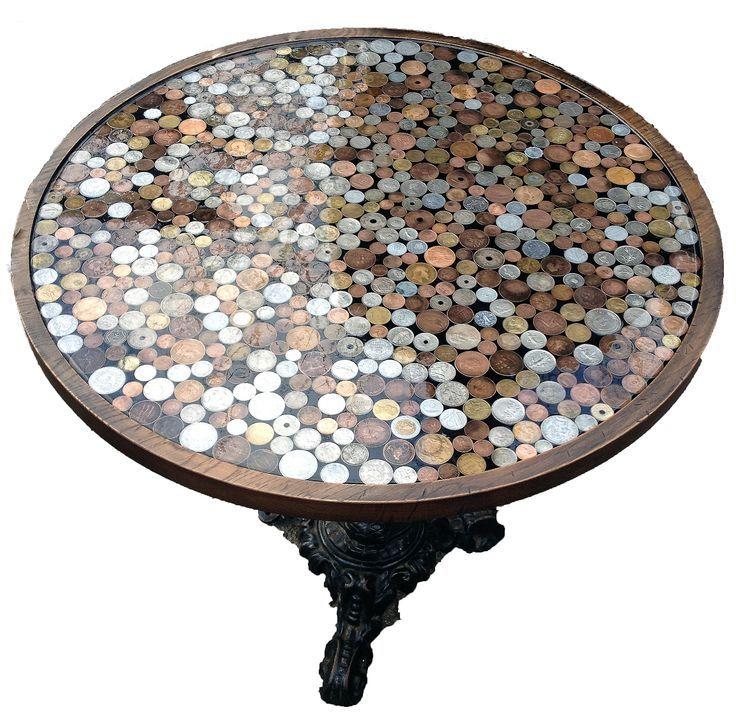 Coin Table top: