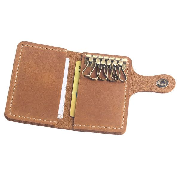 Key Cases – Hand-Stitched Leather Key Hold -Leather Key Wallet – a unique product by aimeecreative on DaWanda