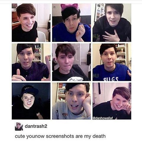 look at derek in the middle picture