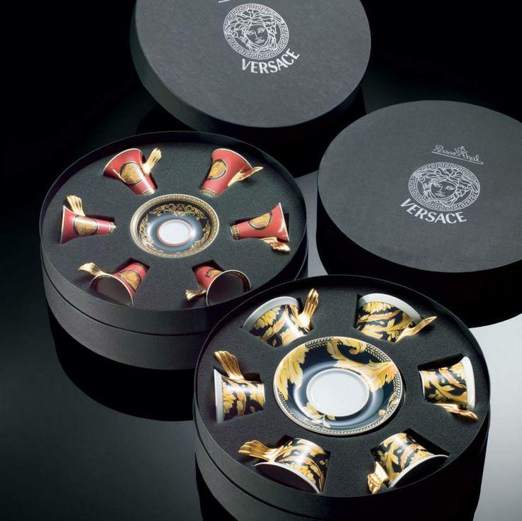 Sets de té #Medusa y #Vanity de #Rosenthal/Versace.