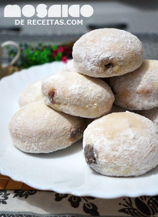 Mosaico de Receitas: Donuts Assados - Chá de Primavera no Coletivo Gastronômico