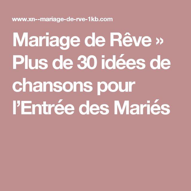 1000 ides sur le thme chansons de mariage sur pinterest musique de mariage chansons de premire danse et liste des chansons de mariage - Chant D Entre Mariage