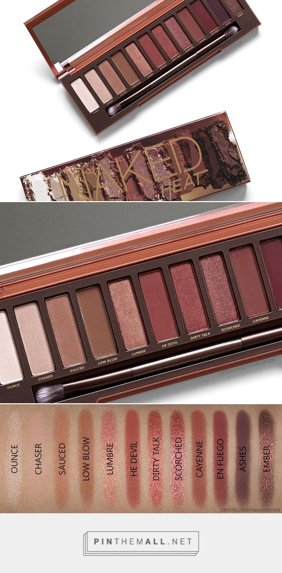 Urban Decay Naked Heat Eyeshadow Palette http://amzn.to/2tGFV5R