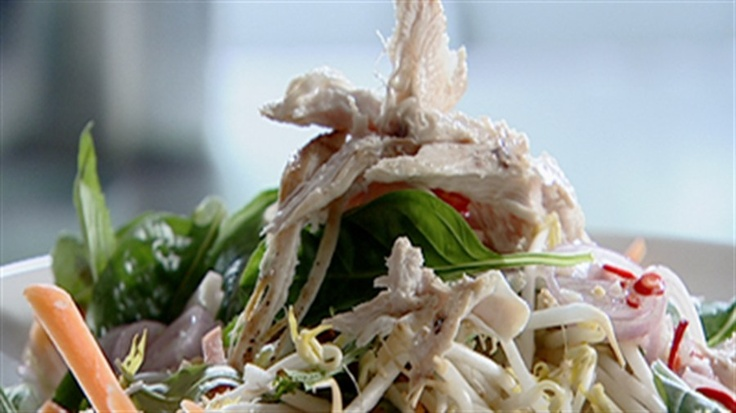 Bill's Vietnamese chicken salad. A fresh meal to usher in summer.