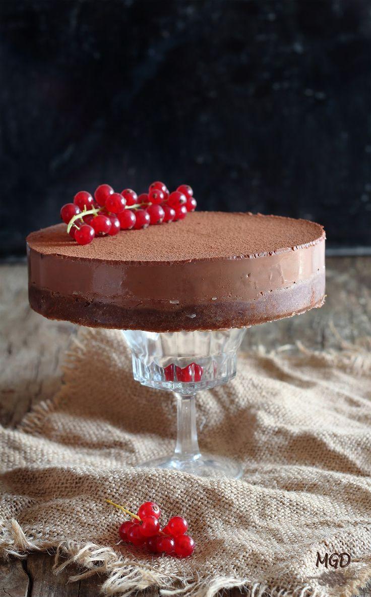 * Cheesecake de chocolate sin horno