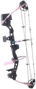 Diamond Razor Edge in pink camo-- this is the bow I have! Great starter!