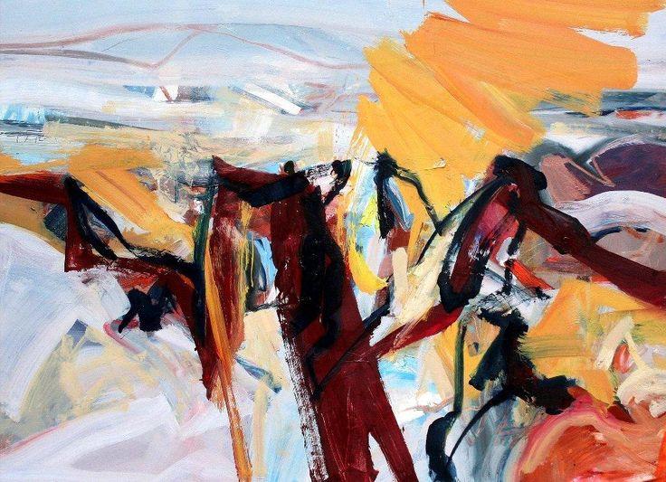 Rock Dance_110x150cms_oil on canvas