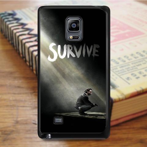The Walking Dead Rick Samsung Galaxy Note 4 Case