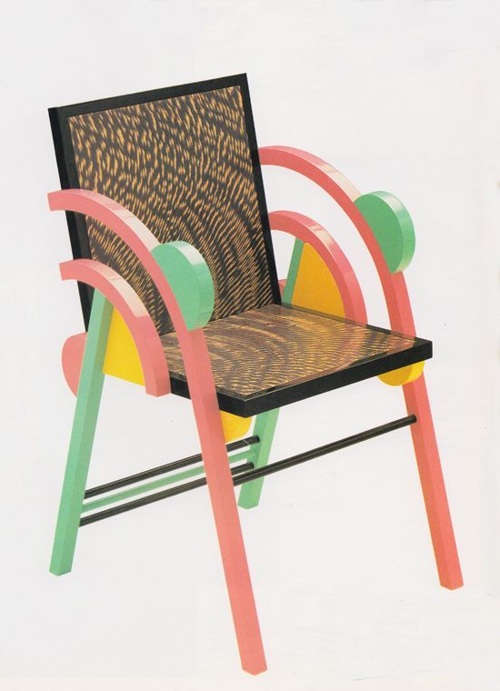 George Sowden, Saragoza Chair 1984