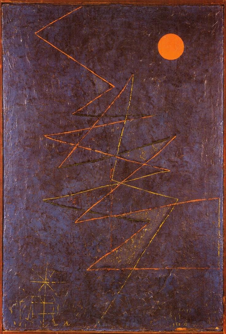 Paul Klee ~ Eclair colore, 1927