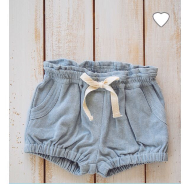 Denim shorts from Aussie label Sonny & Milla. Softest, most comfy shorts! We  these