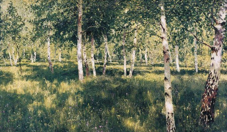 Russian Landscape Painter Isaak Levitan (1860-1900) ~ Blog of an Art Admirer artistsandart.org