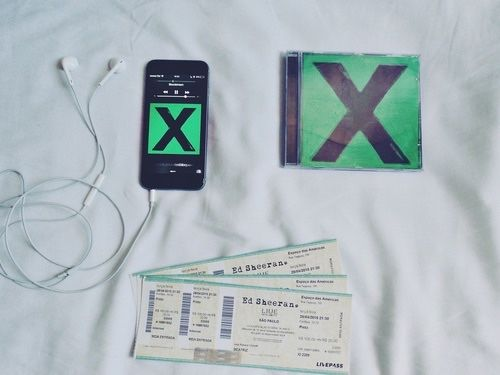 SOOOOO EXCITED TO BE GOING TO ED'S CONCERT IN JULY