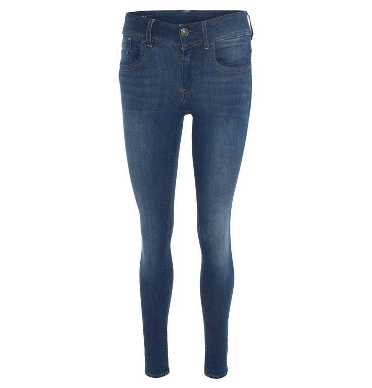 "Jeans ""Lynn Mid Skinny"", Skinny Fit, figurbetonter Bund"
