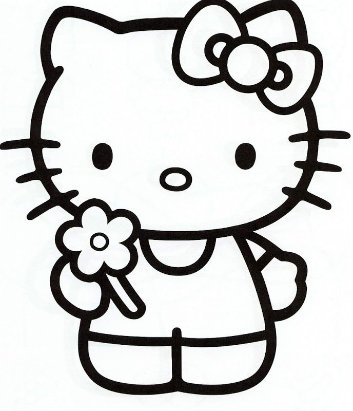 hello kitty coloring pages - Coloring Sheets Hello Kitty