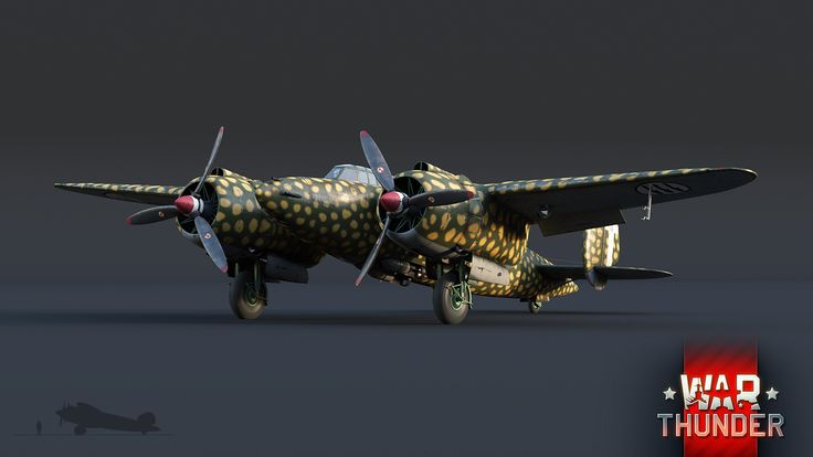 War Thunder - бесплатная онлайн-игра про войну![В разработке] Ba.88 Lince: дикий дух