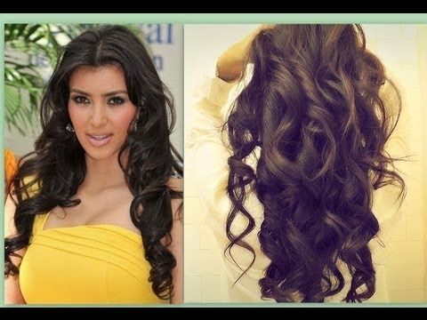 ★ KIM KARDASHIAN HAIR | HOW TO CURL LONG HAIR TUTORIAL | BIG, SEXY, SOFT CURLS