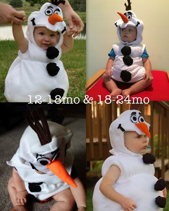 Olaf Frozen Costume PDF Pattern sizes 12months through by joy2sew