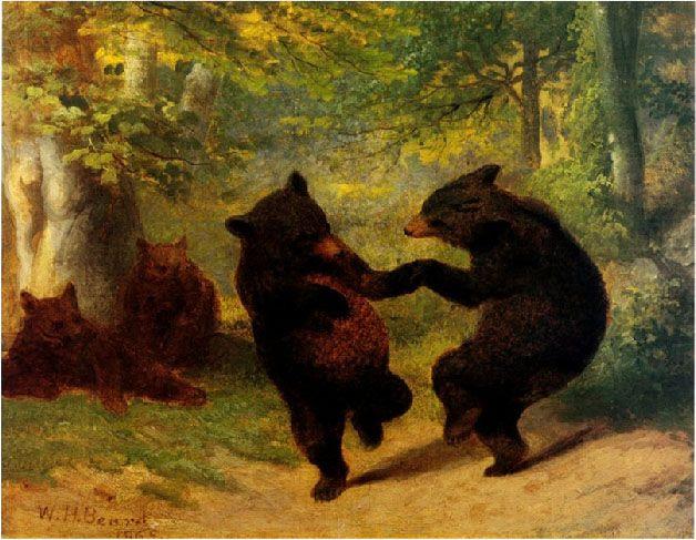 William Beard's Dancing Bears. I've always loved this painting!
