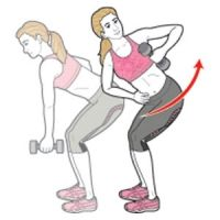 Single-Arm Dumbbell Row and Twist | Women's Health Magazine