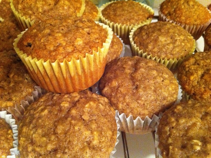 Applesauce Oatmeal Muffins - so good.