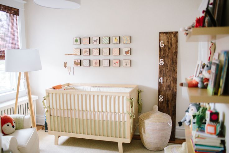 A Mid-Century Modern Inspired Nursery + Get the Look  Read more - http://www.stylemepretty.com/living/2013/10/21/a-mid-century-modern-inspired-nursery-get-the-look/