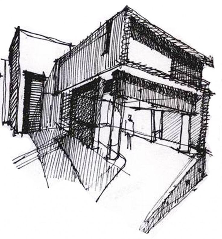 Sketchs de Arquitectura - Bocetos, croquis                                                                                                                                                     Más