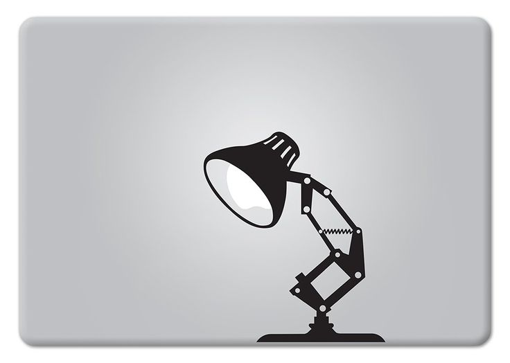 Amazon com pixar lamp disney apple macbook decal vinyl sticker apple mac air pro