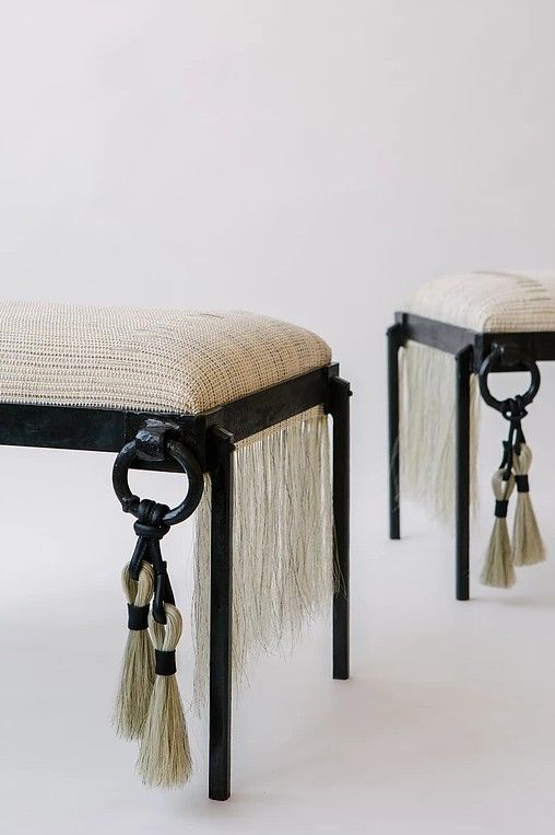 Totally Smitten By Alexandra Kohl S Unique Woven Pieces Belgian