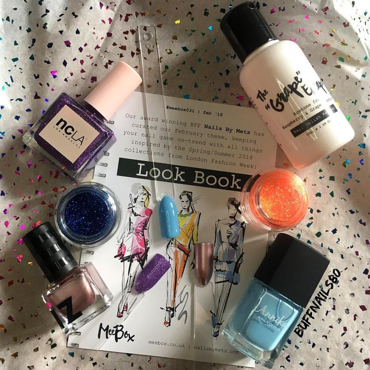 """29 Likes, 1 Comments - 🤟🏼 Karl (Buff nails) 🤟🏼 (@buffnails80) on Instagram: """"Ladies & gents the Feb 18 Look book @meeboxuk is here! This month's box was curated beautifully by…"""""""
