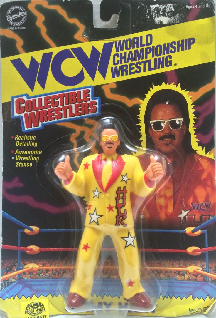 1994 Toymakers WCW Wrestling Figure - Jimmy Hart This item is NOT in Mint Condition and is in no way being described as Mint or even Near Mint. Our toys have not always lead the perfect life, nor have