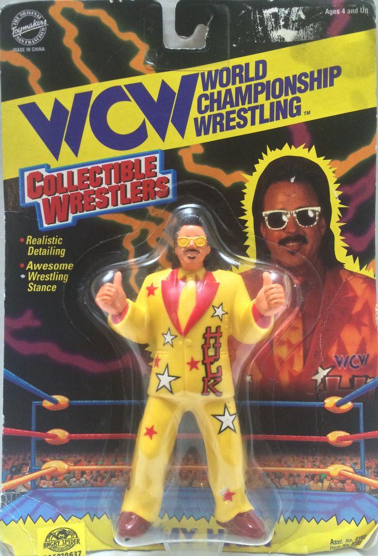 (TAS010637) - 1994 Toymakers WCW Wrestling Figure - Jimmy Hart