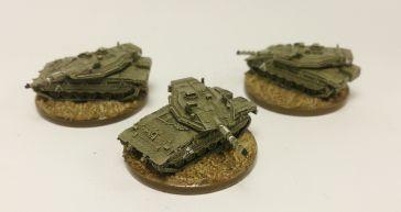 Micro Armour_ modern Israeli_tank latoon