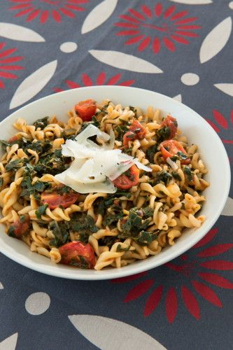 Morogo and Tomato Pasta: Give Italian pasta a South African flair
