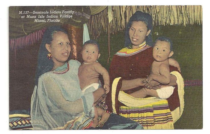 Seminole Family Musa Isle Miami Florida