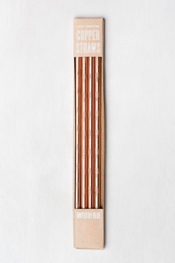Copper Straw Set | United By Blue  - 1