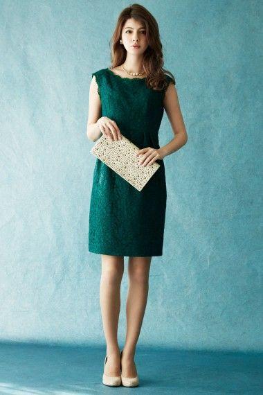 総レース・タイトスカートドレス - 「AIMER(エメ)公式通販サイト|パーティー・結婚式ドレスで人気」