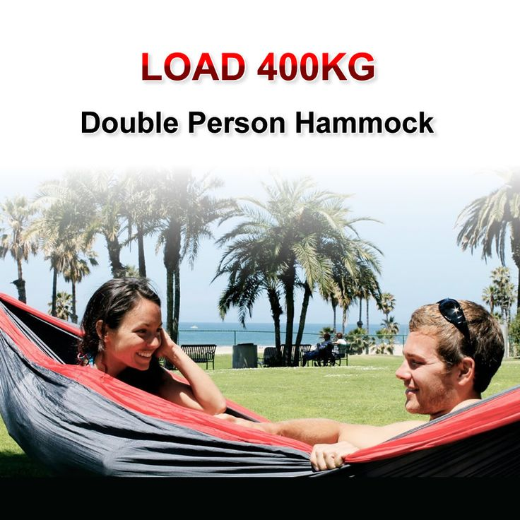 hot sales Load 400KG double person hammock folding outdoor hammock Free shipping