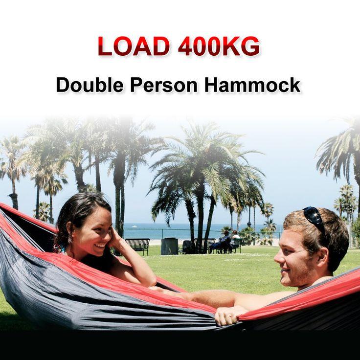 hot sales Load 400KG double person hammock folding outdoor hammock Free shipping
