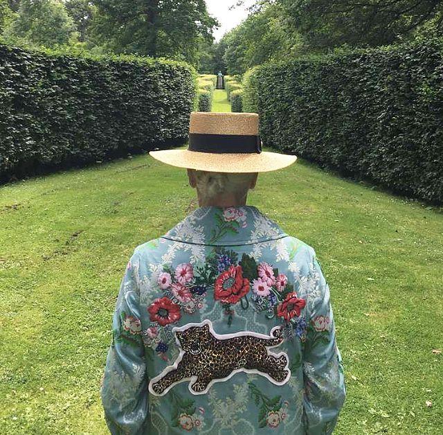Ванесса Редгрейв стала моделью Gucci