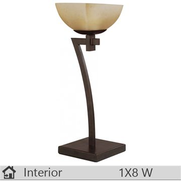 Veioza iluminat decorativ interior Klausen, gama Meda, model TL1