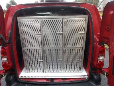 Dog Cages Van Conversion Specialists In Ireland Designing For Vans Cars Manufacturing Crates