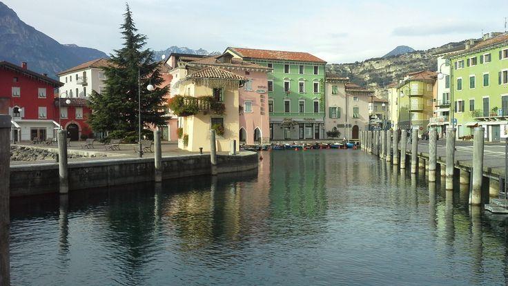 Torbole lake garda village