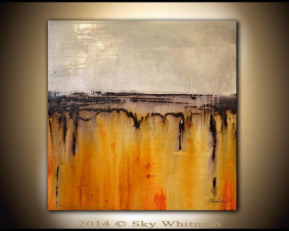 Original Abstract Painting Large Modern by originalmodernart