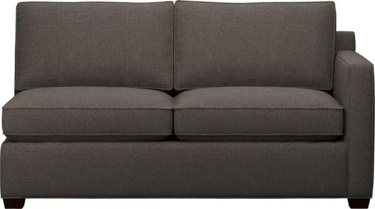 Davis Right Arm Sectional Full Sleeper Sofa  | Crate and Barrel | $1599
