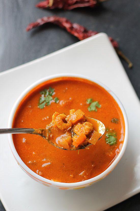 Goan Prawns Curry Recipe, How to make Goan Prawns Curry | Prawns curry