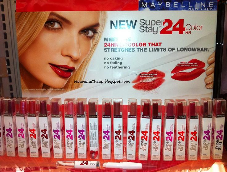 the BEST lipstick ever!!!! Maybelline SuperStay 24 hour