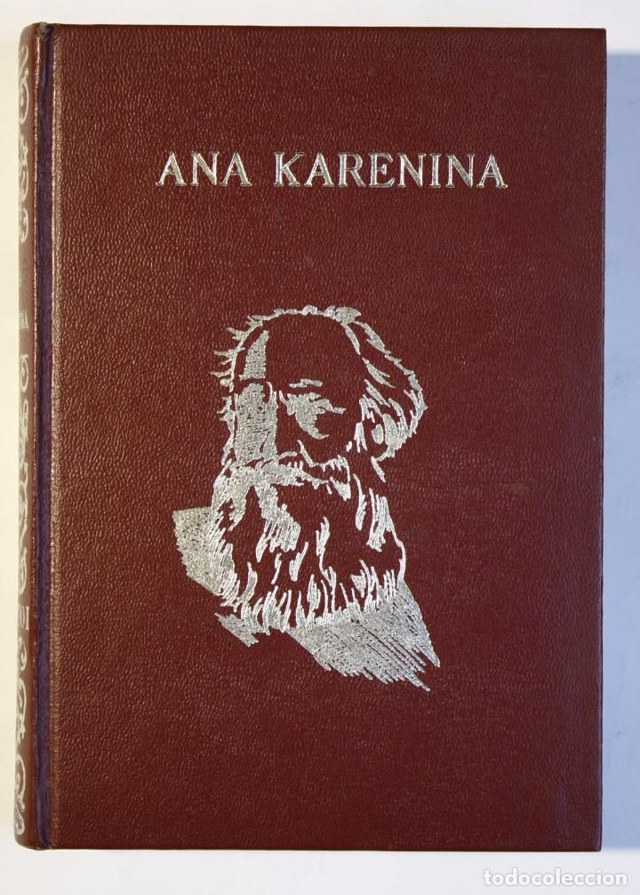 LEON TOLSTOI - ANA KARENINA (Libros antiguos (hasta 1936), raros y curiosos - Literatura - Narrativa - Clásicos)